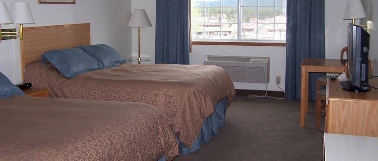 Enjoy the warm comfort of our newly remodeled rooms after a day exploring the Pikes Peak region!