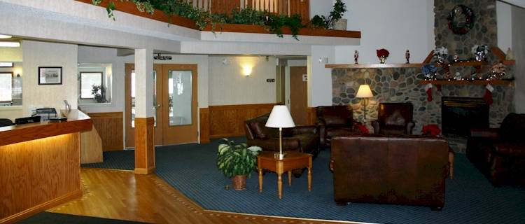 The Country Lodge offers you all the comforts of home away from home.  Roughing it can take on a whole new meaning.