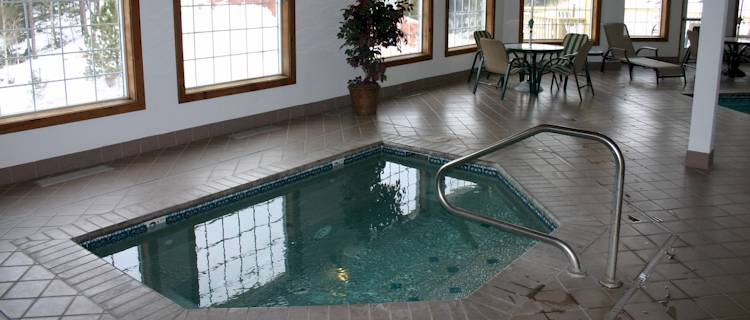 A great way to end the day.  Relax in the heated spa or enjoy a dip in our heated pool.